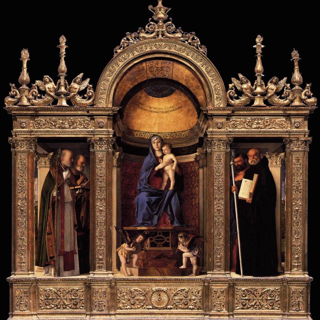 Frari Trittico del Bellini